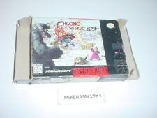 CHRONO TRIGGER game BOX ONLY - Super Nintendo SNES - NO GAME or MANUAL