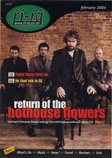 Hothouse Flowers Cutting ri-ra February 2004