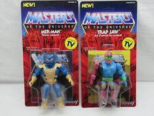 MOTUC,MOTU,TRAP JAW & MER-MAN,MASTERS OF UNIVERSE,Sealed,MOC,He-Man,lot
