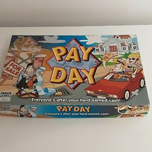 Payday Board Game 2002 Parker Boxed 100% Complete 2-6 Players 8 years+