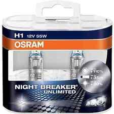 H1 Osram Duo-Box (2 PCs) NIGHT BREAKER UNLIMITED # 12 V 55 W # 110%