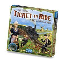 Ticket To Ride Expansión Países Bajos Mapa Colección Juego de Mesa