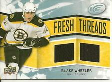 2008-09 Upper Deck Ice Fresh Threads Blake Wheeler #FT-BW