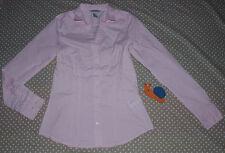 ✿❀ Haut top chemisier chemise coton stretch femme ✿❀ H&M ✿❀ Taille 36