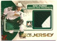 2010-11 ITG Heroes & Prospects Game-Used Jersey Gold Ryan Murray Vault Red 1/1
