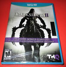 Darksiders II Nintendo Wii U w/ Bonus Content! *Factory Sealed! *Free Shipping!