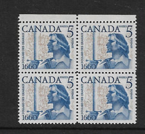 1960 CANADA - Dollard Des Ormeaux - Block of Four. - Mint Never Hinged.