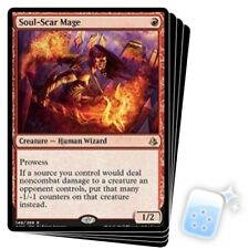 SOUL-SCAR MAGE X4 Amonkhet AKH Magic MTG MINT CARD