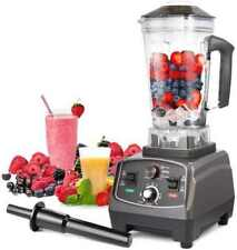 Blender Professional Countertop Blender, 2000W High Speed Smoothie (Grey)