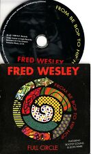 Fred Wesley -Full Circle (From Be Bop To Hip Hop) CD *SIGNED* Bootsy Collins