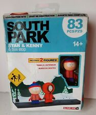 South Park 2017 Stan & Kenny with The Bus Stop Small Construction *Unopened*