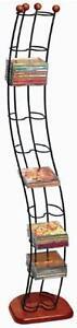 Multimedia Storage Tower DVD CD Metal Narrow Rack Space Saver Organizer Hold 110
