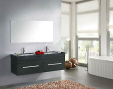 Modern Bathroom Cabinet With Double Sink