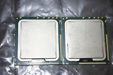 Pair of Intel Xeon X5670 2.93GHz SLBV7 12MB 6.4 GT/s CPU Guaranteed!!!
