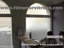 Film adhesif pour vitre : intimité,dépoli ,anti regard - largeur du film : 91 cm
