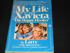 MY LIFE WITH XAVIERA BY LARRY THE SILVER FOX BOOK OUT OF PRINT 1974 1st EDITION