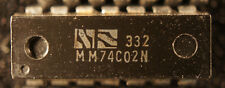NOS  NS MM74C02N   dip14   Qty 1                   Ships: in USA Tomorrow!