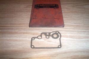 NOS OLDSMOBILE,PONTIAC,HUDSON,NASH,CHEV 1935-58 CARTER CARBURETOR GASKET #121-58