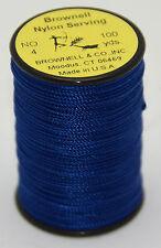 Brownell Wickelgarn Nylon Nr 4 Blau