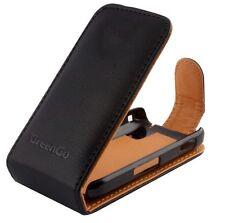 Tasche für HTC Desire X T328e Etui Handytasche Ledertasche GG Flipcase Case Flip