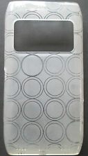 Nokia N8 TPU Case/Cover,Clear-Circles,New.Protek