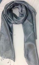 100% Pure Silk Luxury Shawl / Scarf / Wrap Good Size