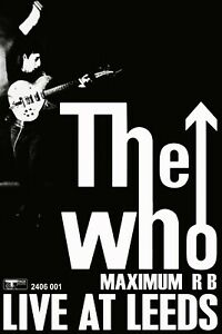 """Reproduction Alternate """"The Who - Live At Leeds"""" Poster, Size A2, Home Wall Art"""