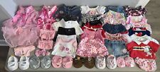 Huge Lot of 38 Build A Bear Clothes Outfits Dresses Shoes Shirts Skirts Shorts