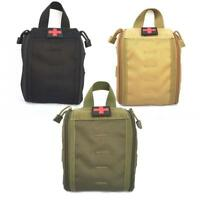 Tactical First Aid Bag Molle Medical EMT Pouch Outdoor Emergency Pack!