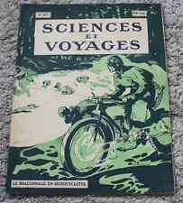 Ancienne revue SCIENCES ET VOYAGES N°63  11 novembre 1920 2ème année ! RARE !