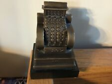 Bank. Cash register. Brass with marble base