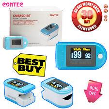 CONTEC Newest Bluetooth Finger Pulse Oximeter SPO2,PR oxygen Monitor CMS50D-BT