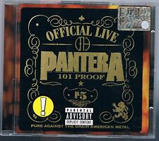 PANTERA OFFICIAL LIVE: 101 PROOF CD COME NUOVO!!!