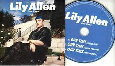 LILY ALLEN Our Time 2014 UK 3-trk promo test CD mint/unplayed