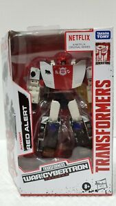 TRANSFORMERS NETFLIX WAR FOR CYBERTRON RED ALERT.