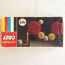 Lego Building Toy - 001 GEARS - Partial Set in Original Box - by Samsonite