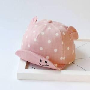 Dot Baby Caps Girls Boys Cap Summer Hats For Boy Infant Sun Hat With Ear Stylish