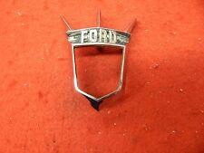 1 USED 55 56 Ford Thunderbird Hood Ornament Badge Emblem Retainer #BN-16644-C