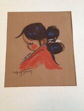 Gerda Christofferson Native American Indian Baby Child Print Girl (h1)