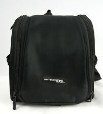 Black Nintendo DS Game Boy Mini Backpack Travel Carry Storage Case Bag Pre Owned