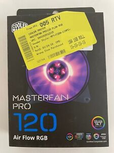 Cooler Master MasterFan Pro 120 Air Flow RGB 120mm High Air Flow RGB