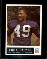 1965 PHILADELPHIA #114 ERICH BARNES EXMT NY GIANTS  *XR13948