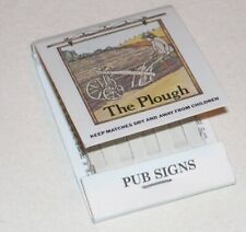 Pochette d´allumettes The PLOUGH - PUB SIGNS - Made in England by BRYANT & MAY