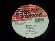 "LEVEL 3 - A day in the Jungle - 1992 USA 5-track 12"" Vinyl Single"