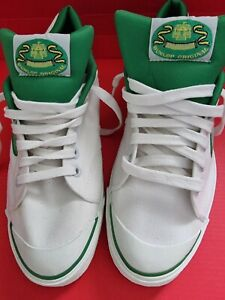 Dunlop Green Flash Canvas Trainers Size UK 9 New no Box never worn vintage Retro