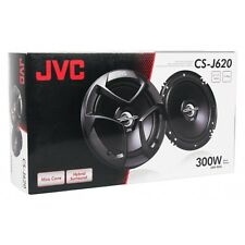 "JVC CS-J620 300 Watts 6.5"" 2-Way Coaxial Car Audio Speakers 6-1/2"" New"