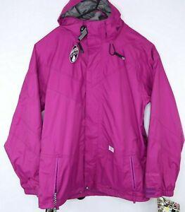 Volcom Nimbus Womens Snowboard Jacket Magenta Size L