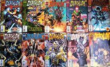 """Lot de 10 """"DEATHLOK""""  n°1 à 11 de 1999 - Version US - Marvel Comics"""