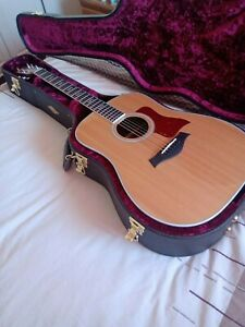 TayIor 410 er eIectro acoustic guitar, sitka spruce top, and solid rosewood body