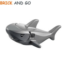1 x LEGO City Minifigure Animal Requin (gris foncé, dark grey) Shark NEUF NEW